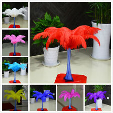 10-100 pcs ostrich feathers decor wedding&Home,10-12inches/25-30cm, 10 colors