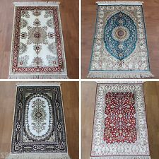 2'x3' Floral Hand Knotted Handmade Small Bed Oriental Silk Persian Rugs Carpets