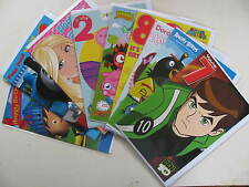 Birthday Cards Characters Happy Thomas Peppa Super Mario Barbie Ben Boys Girls