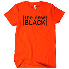 The New Black Mens Funny T-Shirt Orange is OITNB Season 1 2 3 Piper Tee TV Show