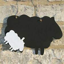 Chalk Blackboard Sheep Shape for Memos Notes & Home Decor