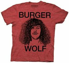 Adult Men's Workaholics Comedy TV Show Burger Wolf Blake Heather Red T-Shirt Tee