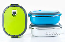 Stainless Steel Insulated Bento Lunch Box Portable Thermal Food Container NEW
