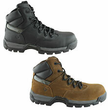 WOLVERINE GUARDIAN MENS LACE UP SAFETY STEEL TOE BOOTS/WORK DURABLE