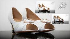 Onorevoli Wedding damigelle d'onore sera Party Prom GATTINO Tacco Scarpe CLAUDIA