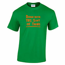 Inspired by Father Ted. Irish comedy sitcom. Cult nostalgia funny T-shirt.