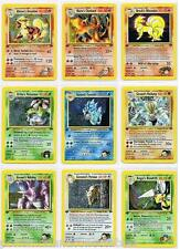 ULTRA RARE - POKEMON 1st Edition Gym Challenge - HOLO  & RARE CARDS