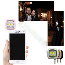 Super Mini 16LEDs Powerful Selfie Flash Fill Light For Smartphone IOS Android CI