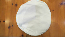 Royal Navy Officer's white cloth cover for Peaked Cap - new