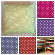 """Polka Dot Scatter Cushion Covers 3mm Tiny Spot 16"""" 18"""" 20"""" 22"""" 24"""" 26"""" 28"""" OR 30"""