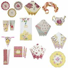 Talking Tables Truly Scrumptious Truly Alice Tableware Cups Plates Napkins