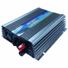 NEW Pure Sine Wave Output 500W Solar Micro Inverter For Solar Panel Home System