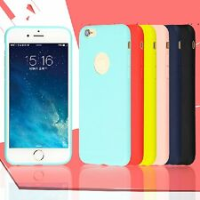 For iPhone 6 4.7'' Ultra-thin TPU Soft Silicone Skin Phone Case Cover CandyColor