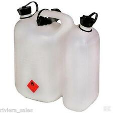 FUEL/PETROL COMBI CAN WITH OIL AND FUEL SPOUTS FOR STIHL USERS DROP DOWN SELECT