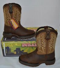 """DURANGO 8"""" LET LOVE FLY COWGIRL WESTERN BOOTS TAN BROWN LEATHER DWBT099 DWBT100"""