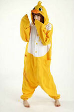 Yellow Duck Animal Onesies Kid Adult Unisex Kigurumi Costume Cosplay Pajama
