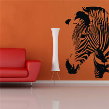 Vinyl Art Removable Animals Zebra Wall Sticker Home Room Decor DIY Decals