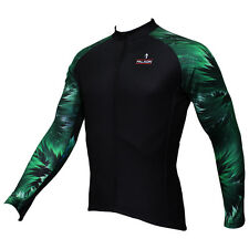 Paladin Long Sleeve Men's Cycling Jerseys Woods Arm Bike Bicycle Cycling Top