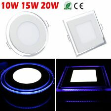 10W/15W/20W Acrylic LED Recessed Ceiling Panel Light Warm Cool White with Driver