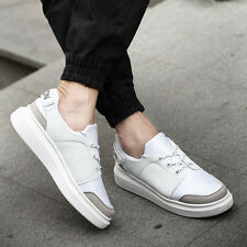 Fashion Men High Platform Lace up Sporting Athletic Sneaker Casual Shoes JL R155