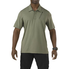 5.11 Tactical Duty Mens Odyssey Polo Shirt Short Sleeve Hunting Top Sage Green
