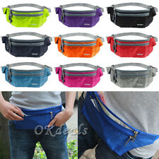 Hot Running Belt Bum Waist Pouch Fanny Pack Camping Sport Hiking Money Bag BEST