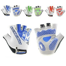 Shockproof Cycling Gloves Moutain Bike Bicycle Sports Gel Pad Fingerless Gloves