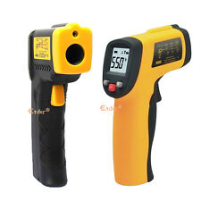 LCD display Infrared Temperature Temp Gun Thermometer Non-Contact IR Laser point