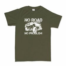 Off Road Jeep Army Truck Mens T shirt - Off Roading Tyres