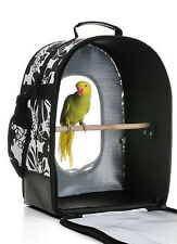 Brand New 'Stylish' Parrot and Bird Travel Carrier Bag cage Large or Small