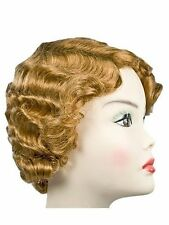 New Gatsby Mae West 1920s Flapper Finger Wave Lacey Costume Wig