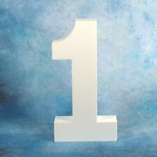 """15"""" Foam Number Photo and Craft Prop - Number 1 Ships or Any Other Single Number"""