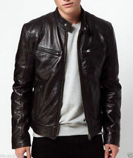 V4M Men's X RIDER GENUINE LEATHER JACKET( 100% GENUINE SHEEP LEATHER)