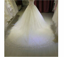 New White Ivory Wedding dress Bridal Gown Custom Size 2 4 6 8 10 12 14 16 18 20+