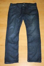 Mens 7 for all mankind Slimmy Skinny Jeans 40 x 33 inseam Dark Wash