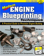 Modern Engine Blueprinting Techniques: Precision Engine Building Pro Book~NEW!