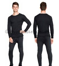 Thermals Mens Wool Bld Thermal Underwear 2pc Set Sz S M L XL XXL