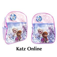 Katz Kids Disney Frozen Backpack Anna Elsa Olaf Junior Girls School Nursery Bag