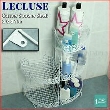 Shower Corner Shelf Caddy Shelves Organiser Bath Storage Rack Bathroom
