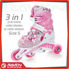 Children Adjustable Roller Blades Rollerblades Kids Inline Skates 3 in 1 GIFT
