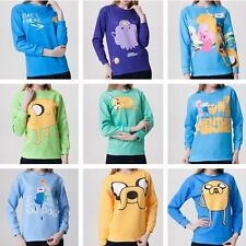 Hot Adventure Time T-shirt Sweater Sweatshirt Hoodie Pullover Cartoon Tracksuit