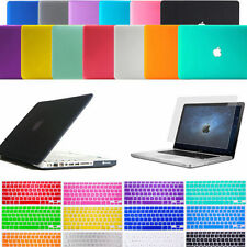 "Rubberized Hard Case Keyboard Cover MacBook Air / Pro / White 11 12 13 15""Retina"