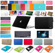 Smart Rubberized Hardshell Hard Case Cover With Keyboard Skin For Apple Macbook