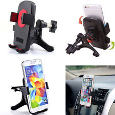 360° Car Air Vent Mount Cradle Holder Flip Stand For Mobile Cell Phone GPS