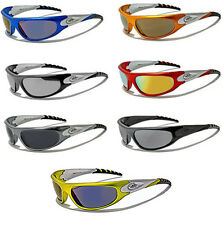 Mens Sports XLOOP Wrap Around Comfort Fit  SURF Sunglasses Shades Full UV400
