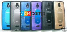 New InFocus M2 Hybrid Textured Silicon Back Case Cover Multiple Colour