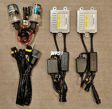 LOW BEAMS 35W H11 HID KIT SLIM XENON CANBUS NO ERROR FOR CADILLAC CHEVROLET