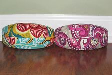 Vera Bradley PROVENCAL or PAISLEY MEETS PLAID Hard Clamshell SUNGLASS CASE