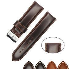 Italian Genuine Leather Watchband 20mm 22mm 24mm Watch Strap Brown Quality New