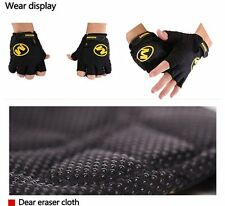Sports Bicycle Bike Breathable Cycling GEL Shockproof Pad Half Finger Glove M-XL